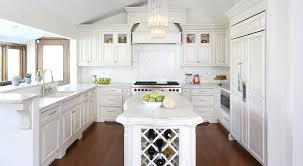 white kitchen cabinets with window trim can you stained trim with white painted cabinets