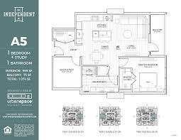 Floorplans Com Residences The Independent