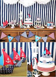 nautical party supplies nautical birthday party printables supplies decorations party