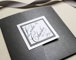 Pocketfold Invitations Pocketfold Invites Etsy