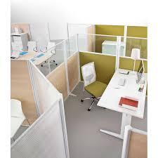des bureau bureau avec écran de séparation tim 4 postes mobilier de bureau