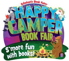 happy camper book fair s u0027more fun with books scholastic book fairs