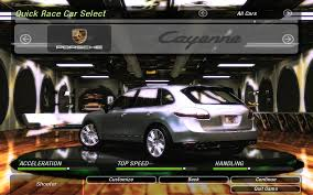 Porsche Cayenne Acceleration - need for speed underground 2 porsche cayenne turbo nfscars