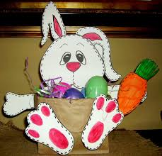 easter bunny baskets stitches the bunny basket kids glitter
