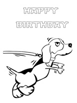 kids coloring birthday card free printable coloring cards free