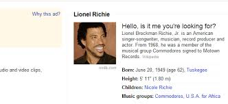 Hello Is It Me You Re Looking For Meme - google easter egg lionel richie hello is it me you re looking