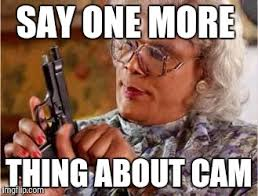 One More Thing Meme - madea with gun imgflip