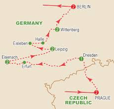 Dresden Germany Map by Luthers Germany September 2017 Craig Travel