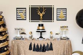 black and gold centerpieces interior designs home black and gold christmas decor