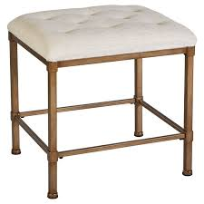 Bathroom Vanity Chairs with Bathroom Ideas Brown Metal Rectangular Bathroom Vanity Stool With