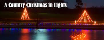 drive thru christmas lights the rock ranch