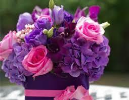 purple centerpieces yumila weddings and events floral design rochelle park nj