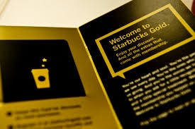 starbuck gold card my starbucks gold card