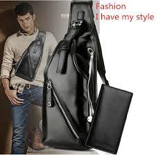 hernegnes leather bag messenger bag chest pockets shoulder bag