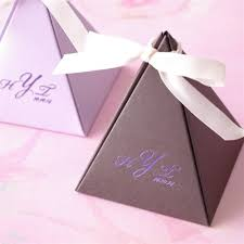 favor boxes monogram basic pyramid favor box wedding favor boxes favors by