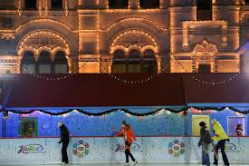 outdoor ice skating rinks in moscow