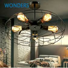 industrial style ceiling lights rh loft vintage american personality industrial style electric fan