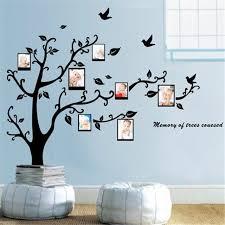 removal wall sticker home decor decoration black tree design