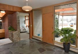 Mid Century Modern Foyer The Wermager House Circa Old Houses Old Houses For Sale And
