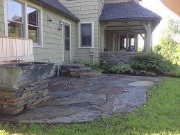hilltown tree and garden portfolio windsor ma flagstone patio