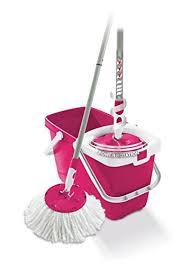 mocio pavimenti leifheit set mocio rotante per pulizia pavimenti rosa pink