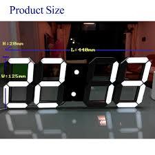 innovative decorative digital wall clock 40 decorative digital