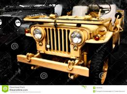 collectible old ww2 jeep vehicle stock photography image 10934582