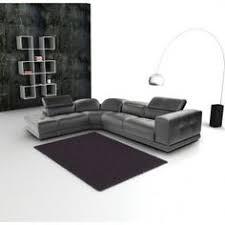 Nicoletti Italian Leather Sofa Nicoletti Grey Italian Leather Sparta Sectional Sofa With Right