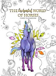 coloring book bundle 5 set u2013 the amazing world of horses