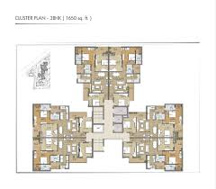 Cluster House Plans Flats Apartments For Sale Luxury 3 Bhk U0026 4 Bhk Flats Apartments