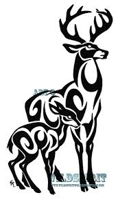 images deer tribal tattoos
