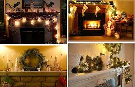 Fireplace Mantel Decoration by 40 Christmas Fireplace Mantel Decoration Ideas