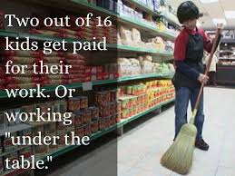 Paid Under The Table Child Labor By Max Garcia