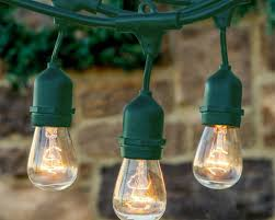 Outdoor String Lights Patio Lighting Wooden Pool Deck Lighting And Wall Led String Lights
