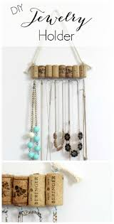 earring holder necklace images Related keywords suggestions for homemade jewelry holder organize jpg