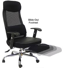 Reclining Office Chairs Lovely Office Chair With Footrest With A Definitive Guide For