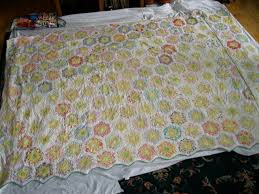 ann quilts repair of a grandmother u0027s flower garden quilt