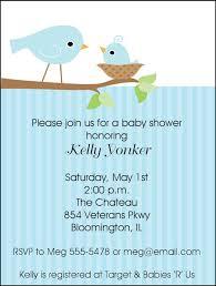 bird baby shower and baby bird baby shower invitations