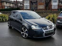2006 vw golf r32 3 2 v6 4motion manual 5 door black leathers tints