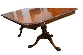 Chippendale Style Solid Mahogany Dining Table Ball  Claw FT - Chippendale dining room furniture