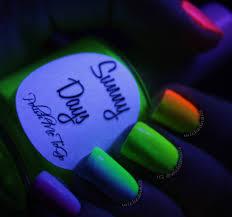 glow in the dark wickednails
