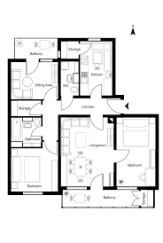 how to draw a floor plan on the computer draw a floor plan in coreldraw by roplans