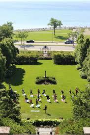 Yoga in the Garden has been such a big Villa Terrace