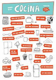 la cuisine en espagnol les 10 meilleures images du tableau blabla sur apprendre