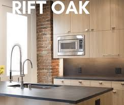 oak kitchen cabinet finishes rift oak cabinets modern kitchen design mod cabinetry