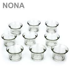 Ebay Fulda Esszimmer Set Neun Nona Teelicht Gläser 4 5 Cm Klar Teelichthalter