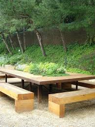 outdoor bench seat and table u2013 amarillobrewing co