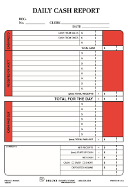 daily cash report template templates csat co