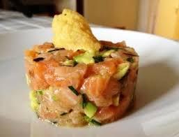 recette cuisine facile pas cher tartare saumon avocat recette facile entree froide noel pas cher