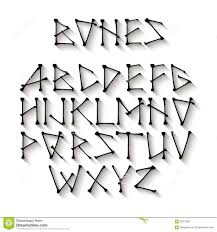 spooky halloween font uppercase letters stock vector image 59667582